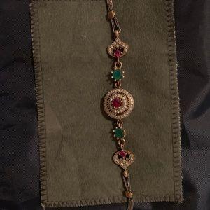Jewelry - Ruby bracelet in 925 silver